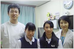 一条中大いちょうプロジェクトメンバー代表 塚越 茜